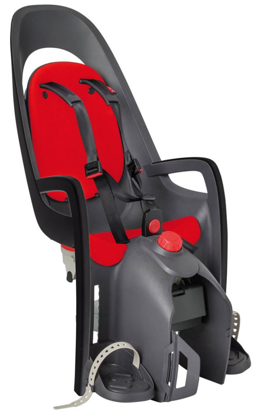 HAMAX Kindersitz CARESS GT grau/schwarz/rot, sperrbar