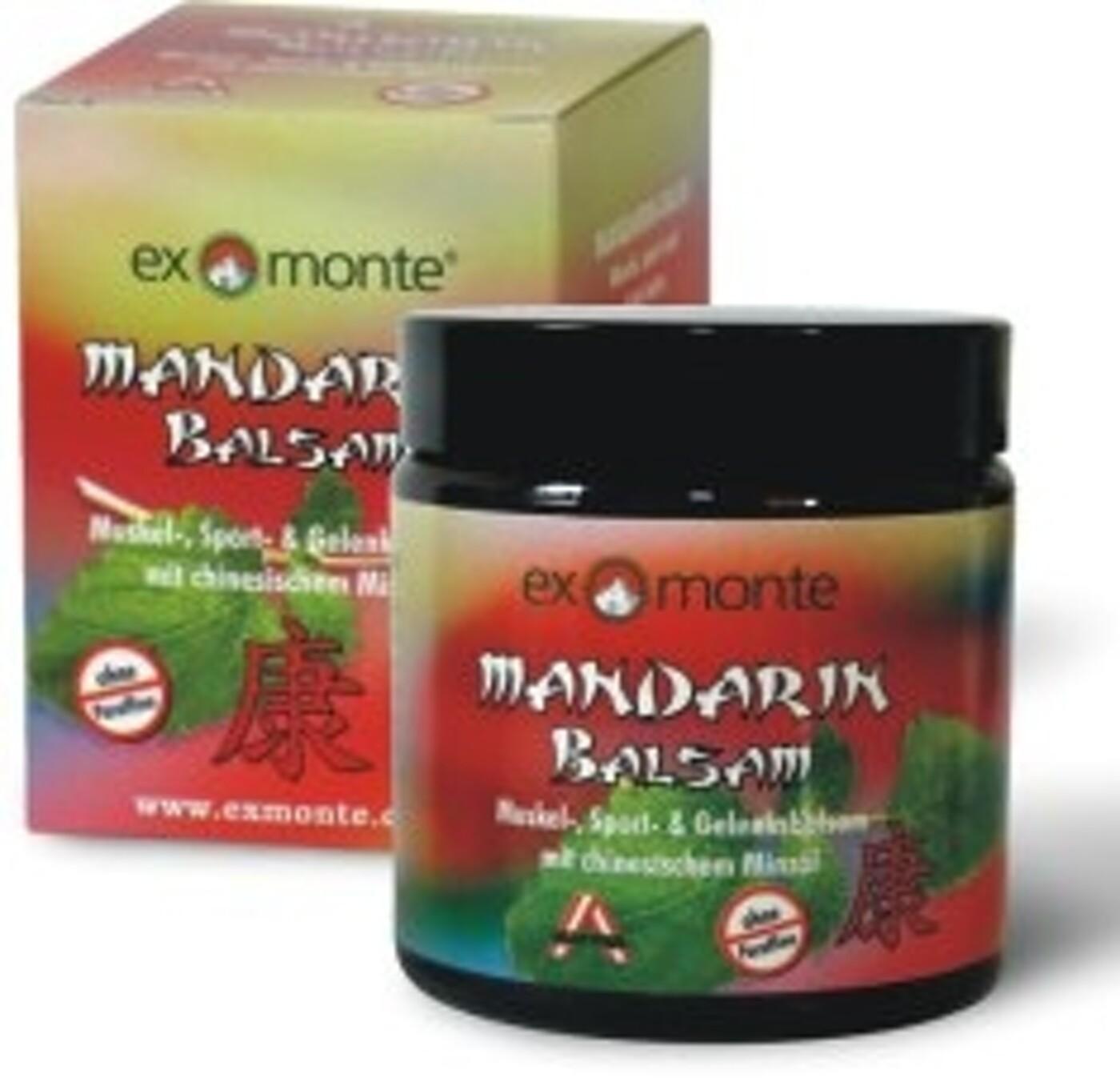 Mandarinbalsam 100ml EXMONTE
