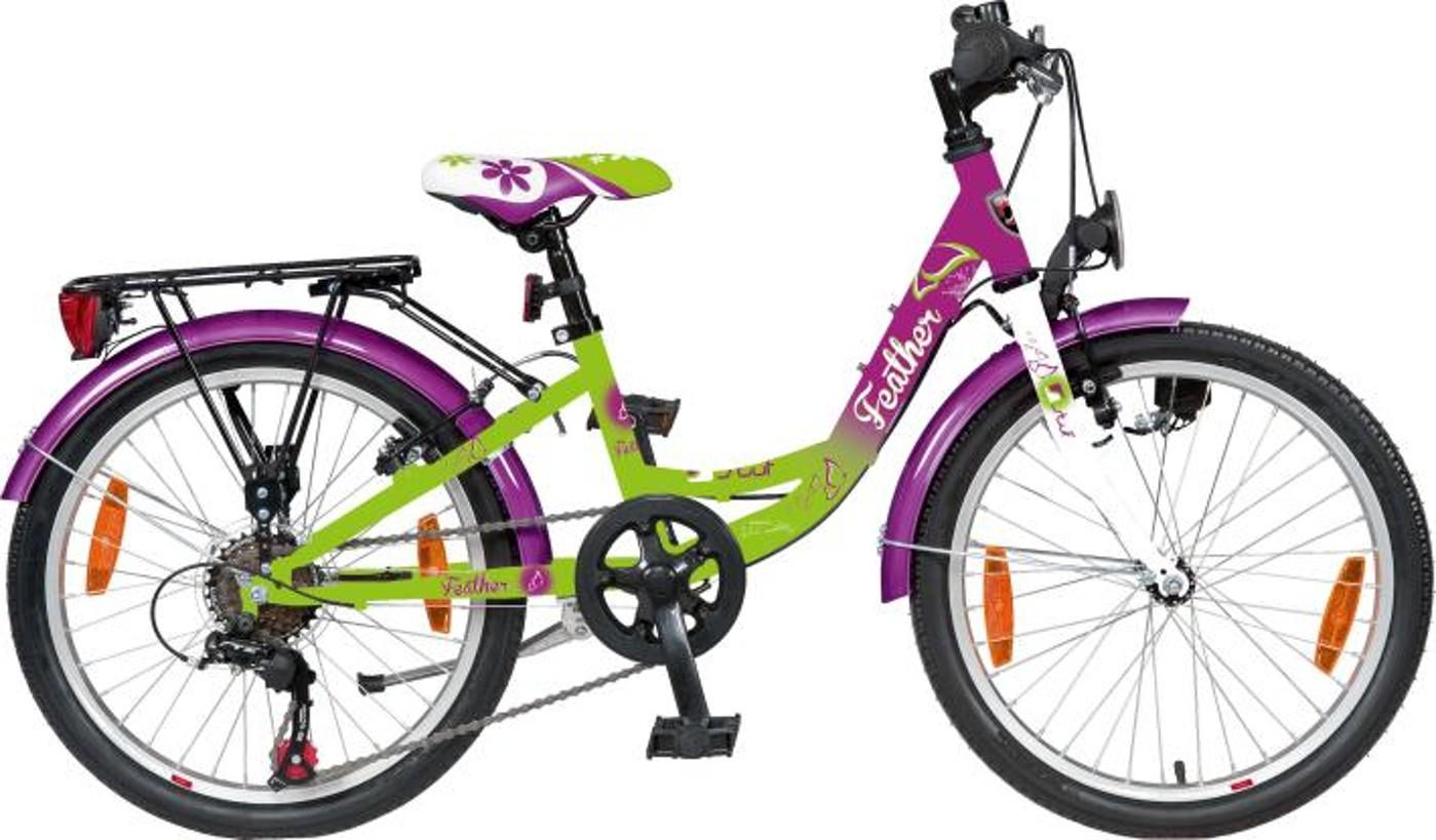 """STUF Citybike FEATHER 20"""" Mädchen"""