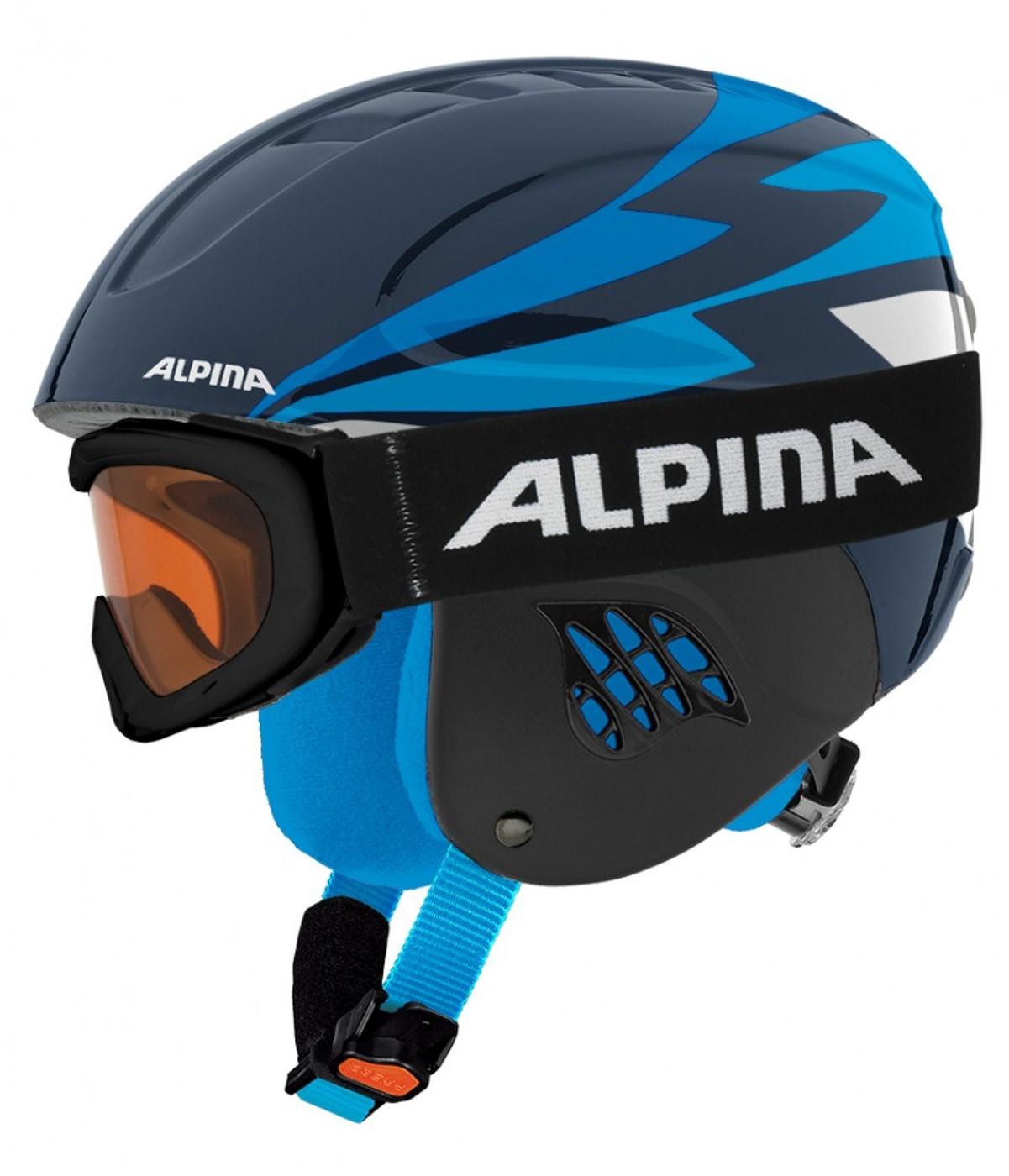 ALPINA Helm-Set CARAT mit Ruby S