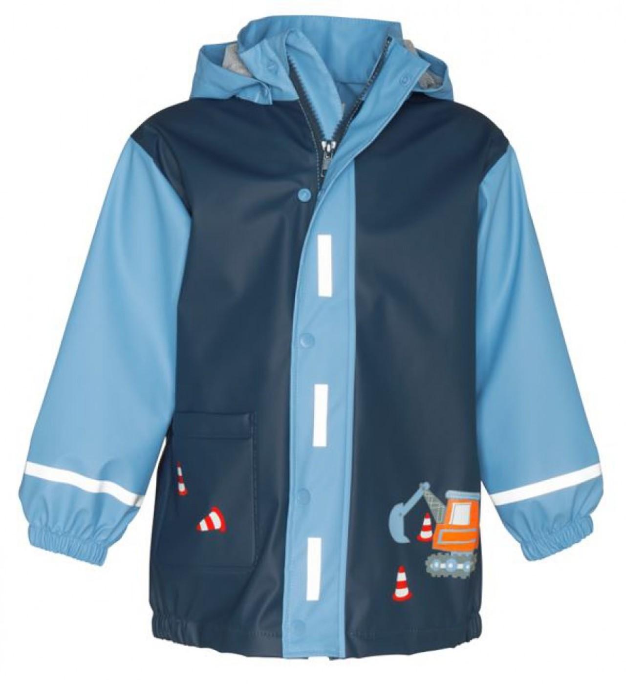 PLAYSHOES Regen-Mantel Baustelle - Kinder