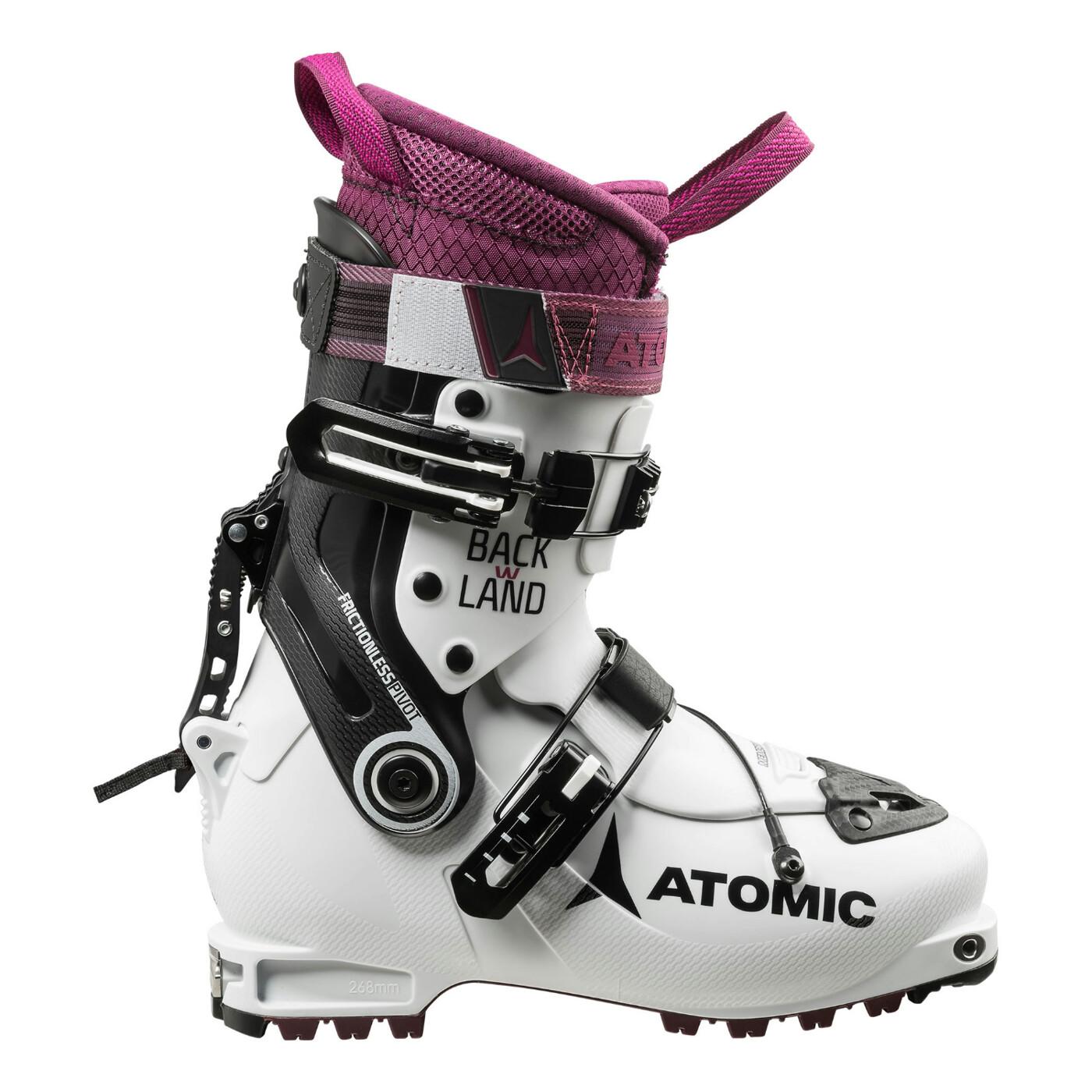 ATOMIC TOURENSCHUH BACKLAND W White/Purple/Black - Damen