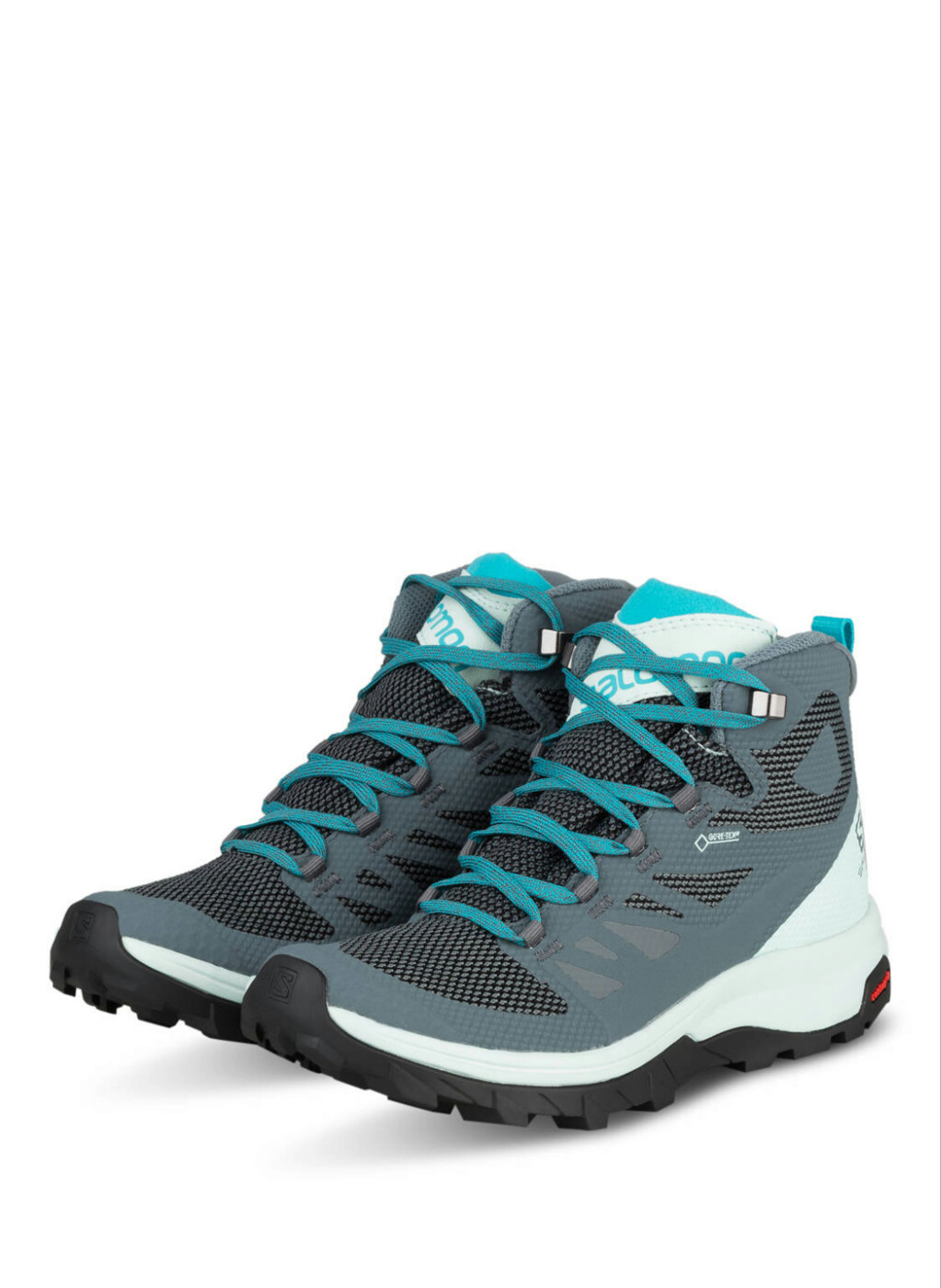 MOON BOOT SHOES OUTline Mid GTX W Stormy Wea/Icy M Salomon - Damen