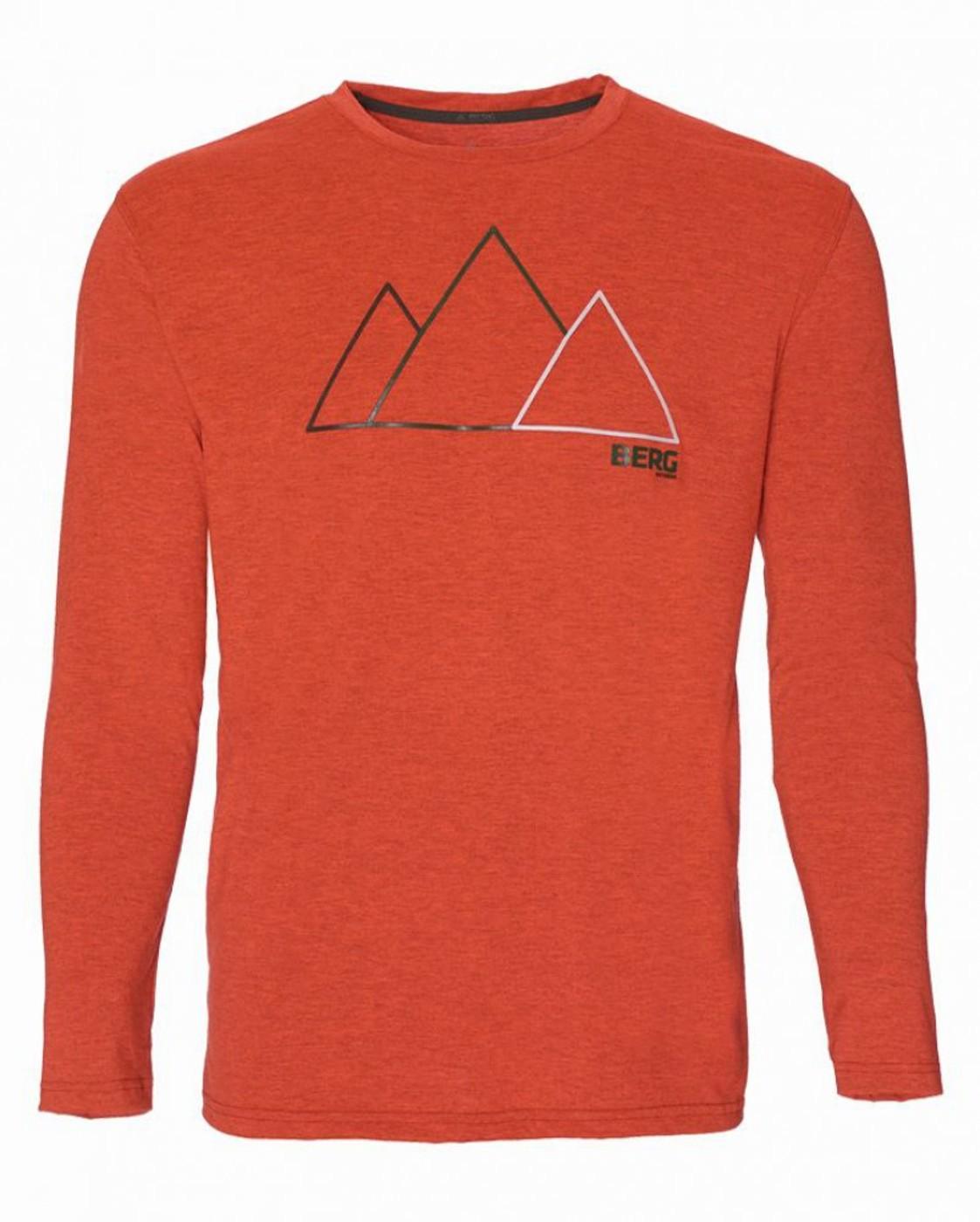 BERG Tech Lg-sleeve T-shirt CORUJAS - Herren