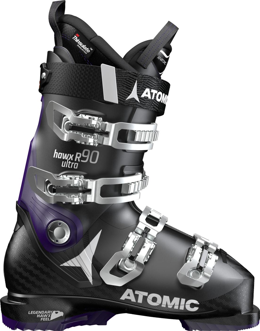 ATOMIC HAWX ULTRA R90 W Black/Purple - Damen
