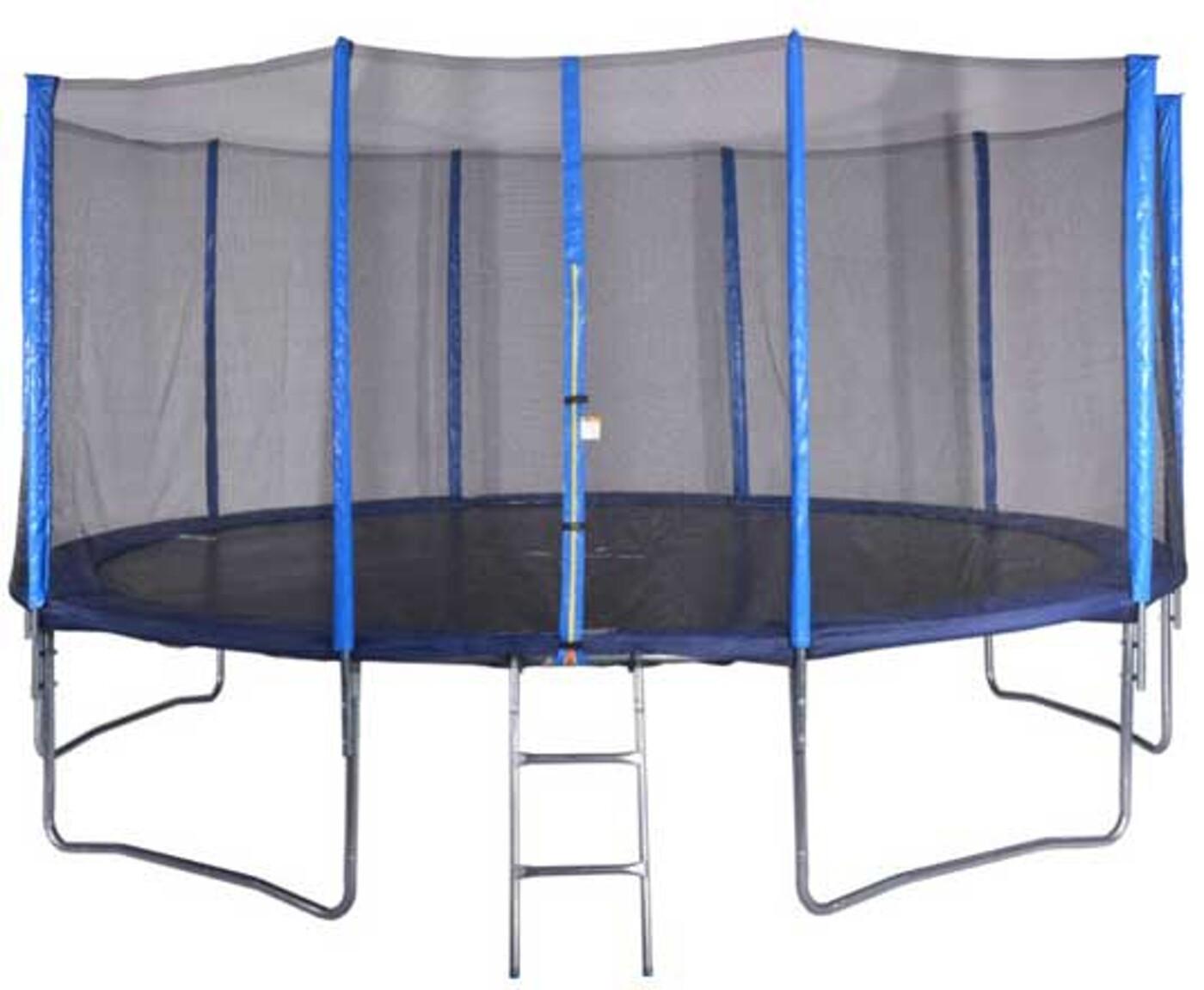 Trambolin 4,87 cm mit Netz und Leiter Spartan