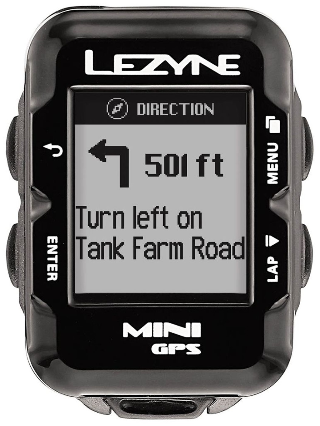 LEZYNE Radcomputer MINI GPS HR schwarz