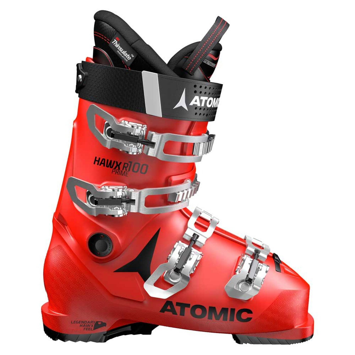 Skischuh HAWX PRIME R100 Red/Black Atomic - Herren