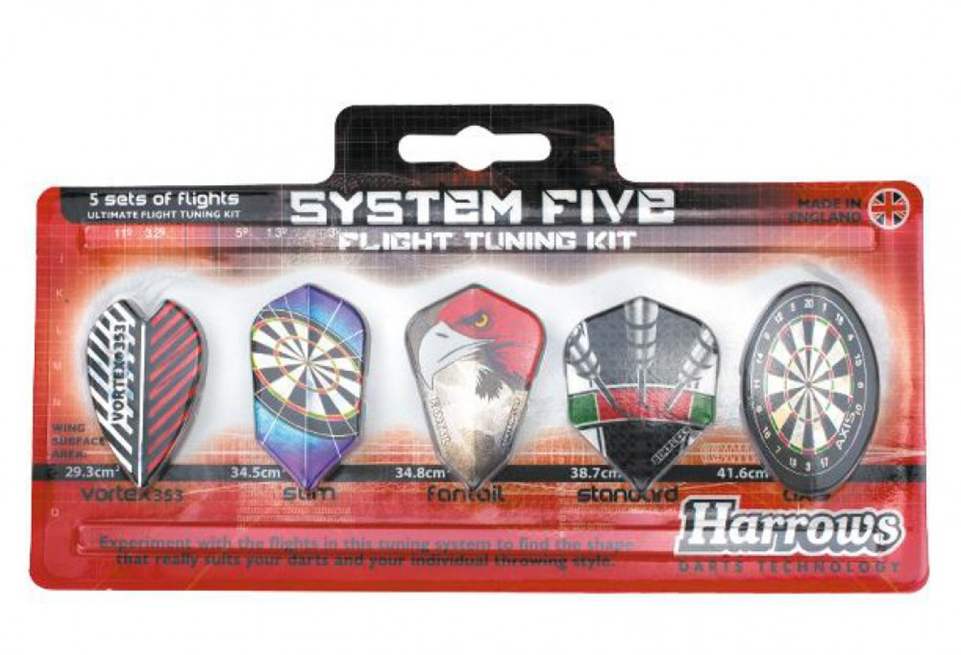 HARROWS Flight System Five Tuning Kit