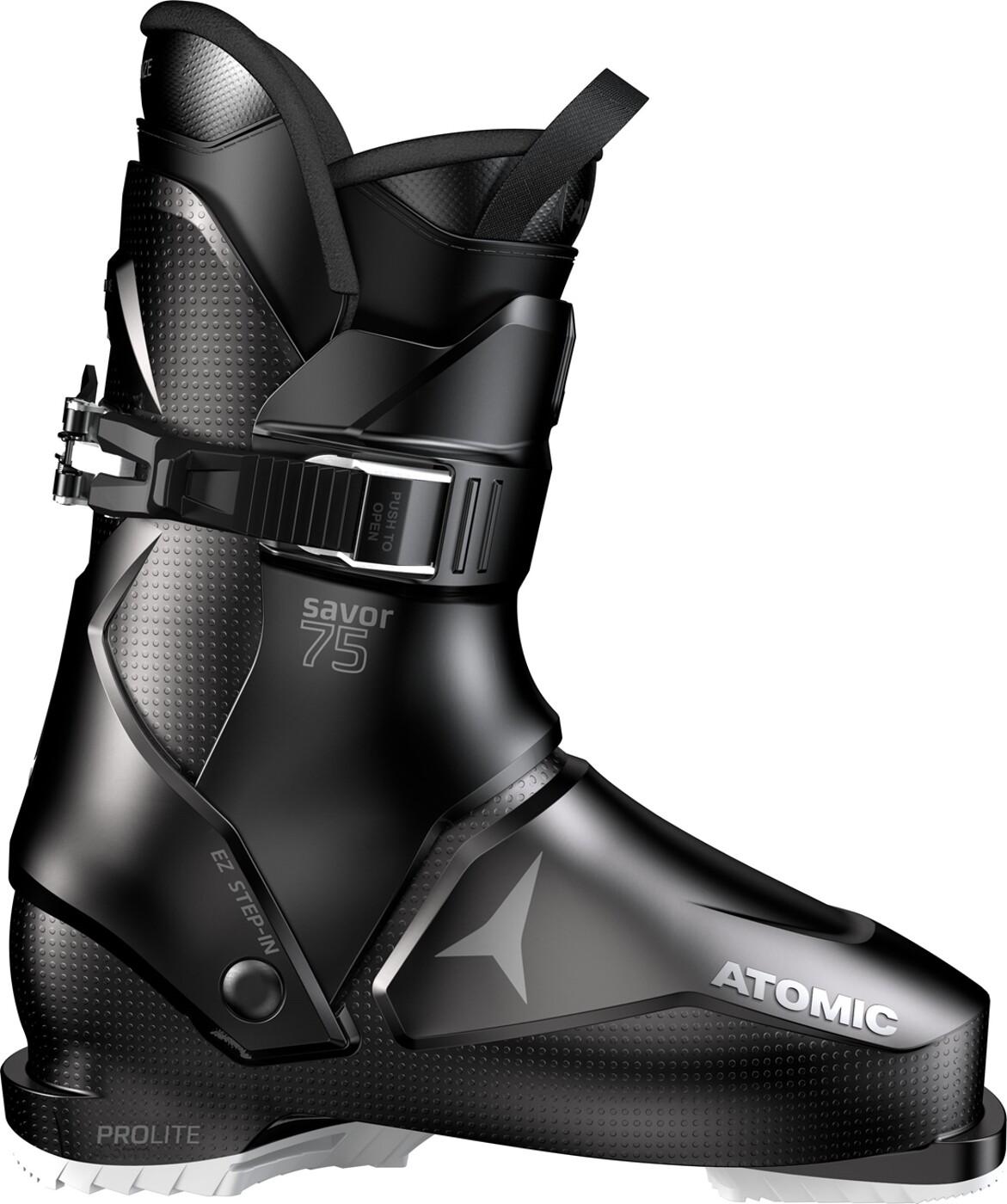 Skischuh SAVOR R70 W Black/Silver Atomic - Damen