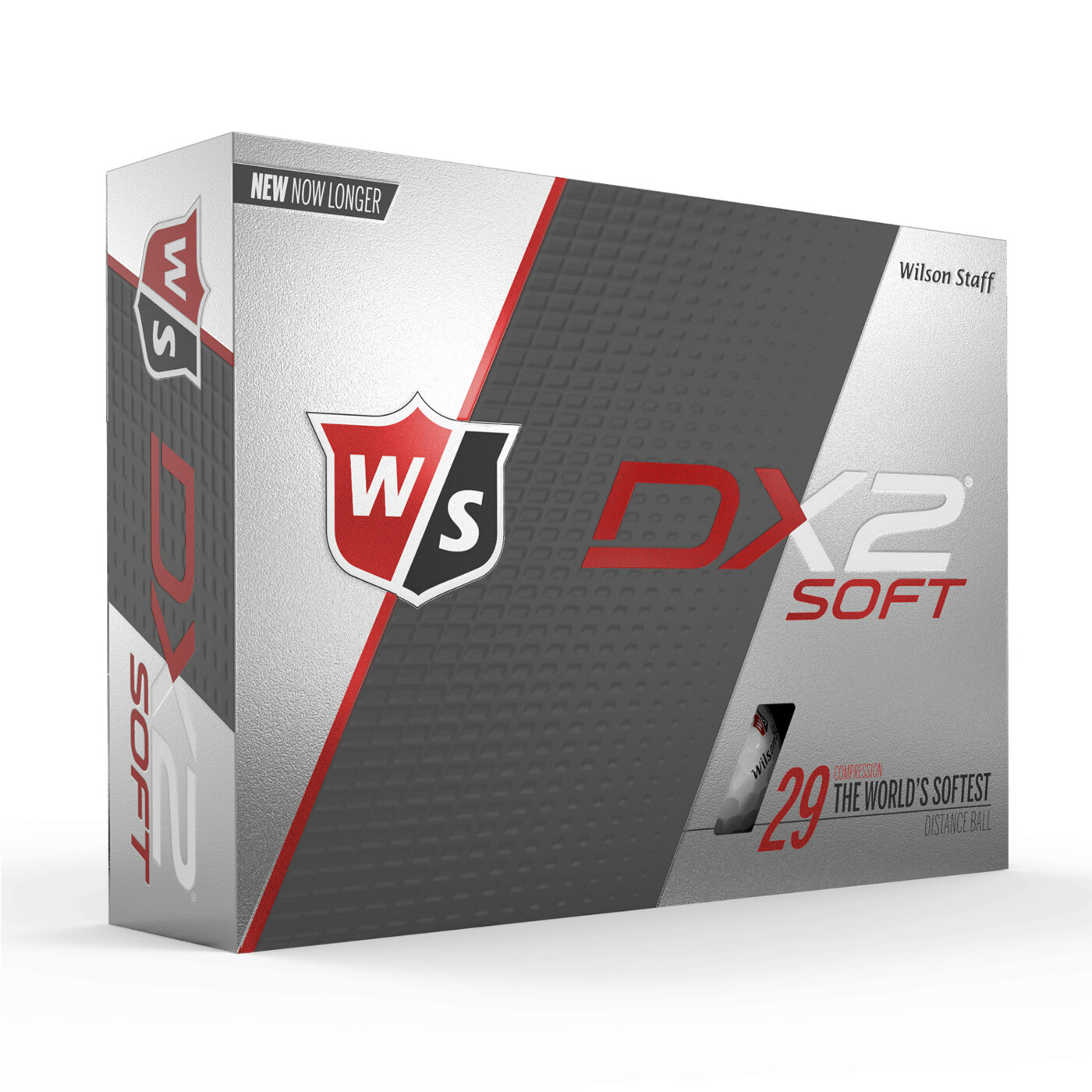 GOLFBÄLLE DX2 SOFT 12-BALL WH WILSON
