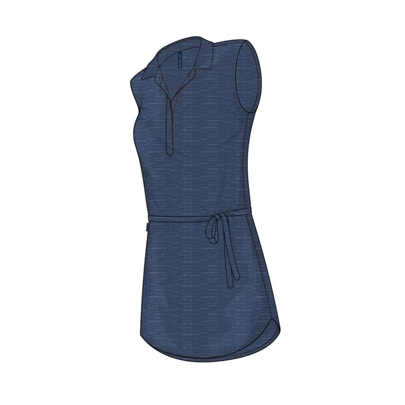 Kleid TRIBEKA SUN VALLEY - Damen