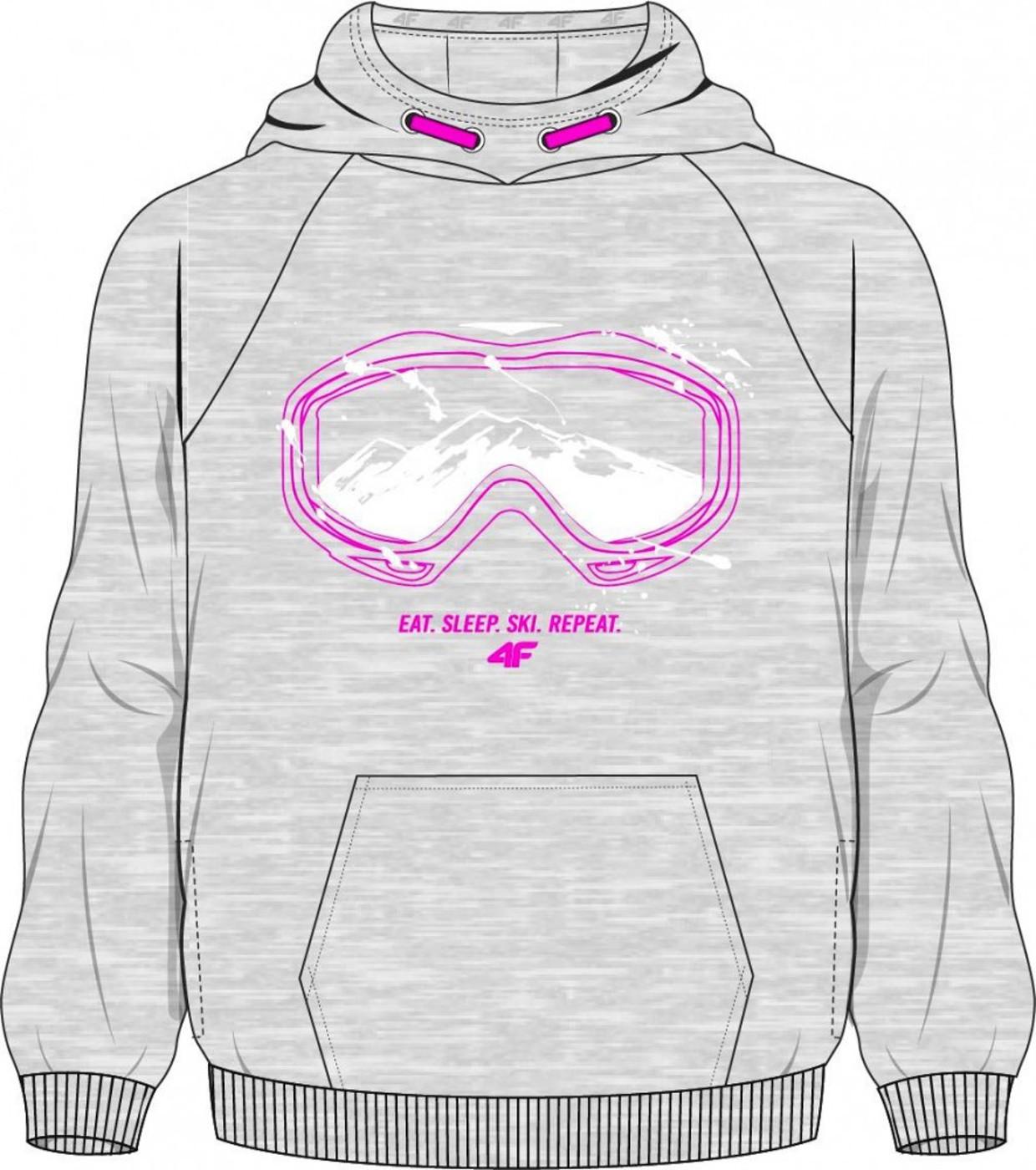 4F Kapuzensweater JBLD006A - Kinder