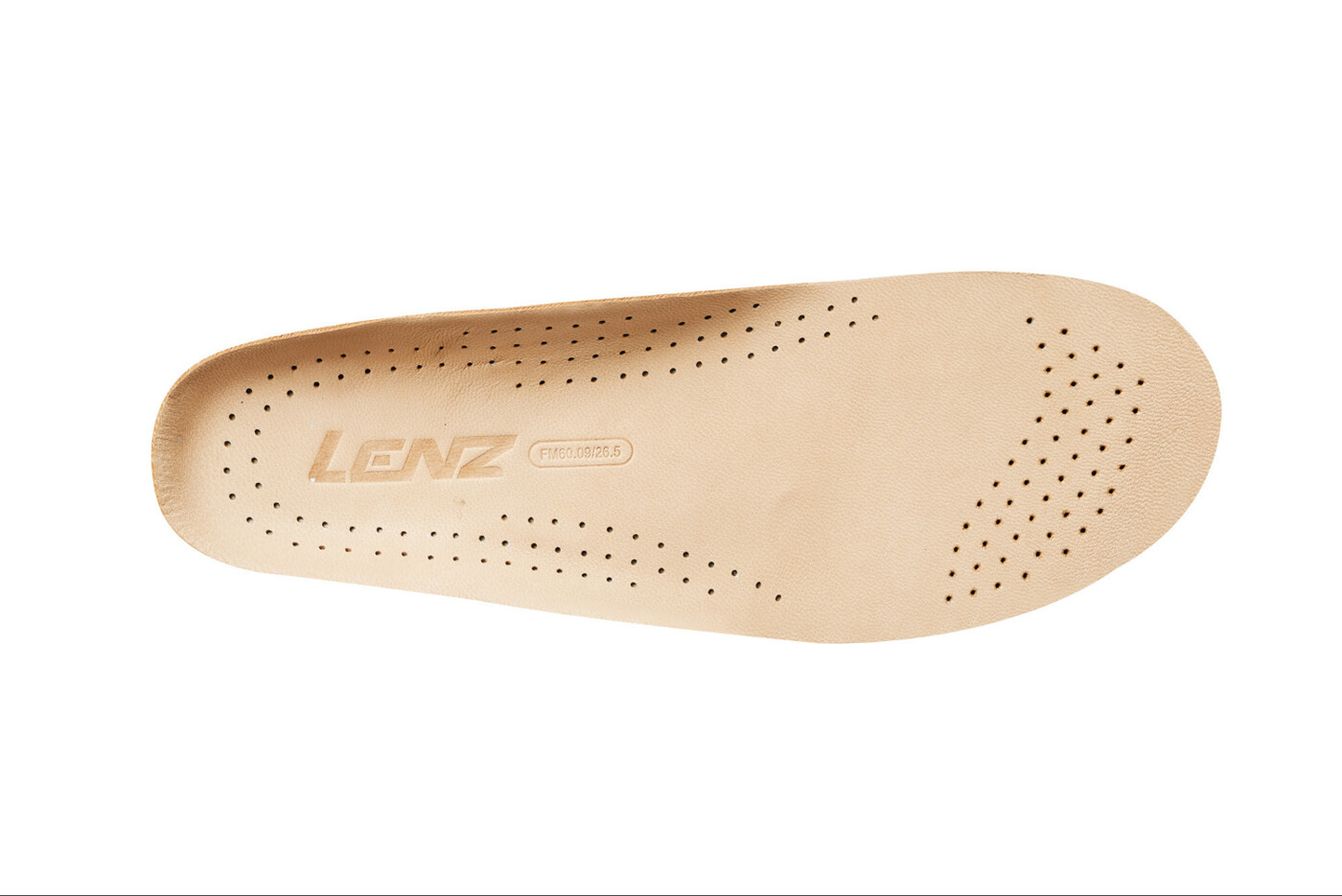 LENZ GMBH SOHLE INSOLDE TOP LEATHER PERFORATED CUSTOMIZED INSOLES LENZ
