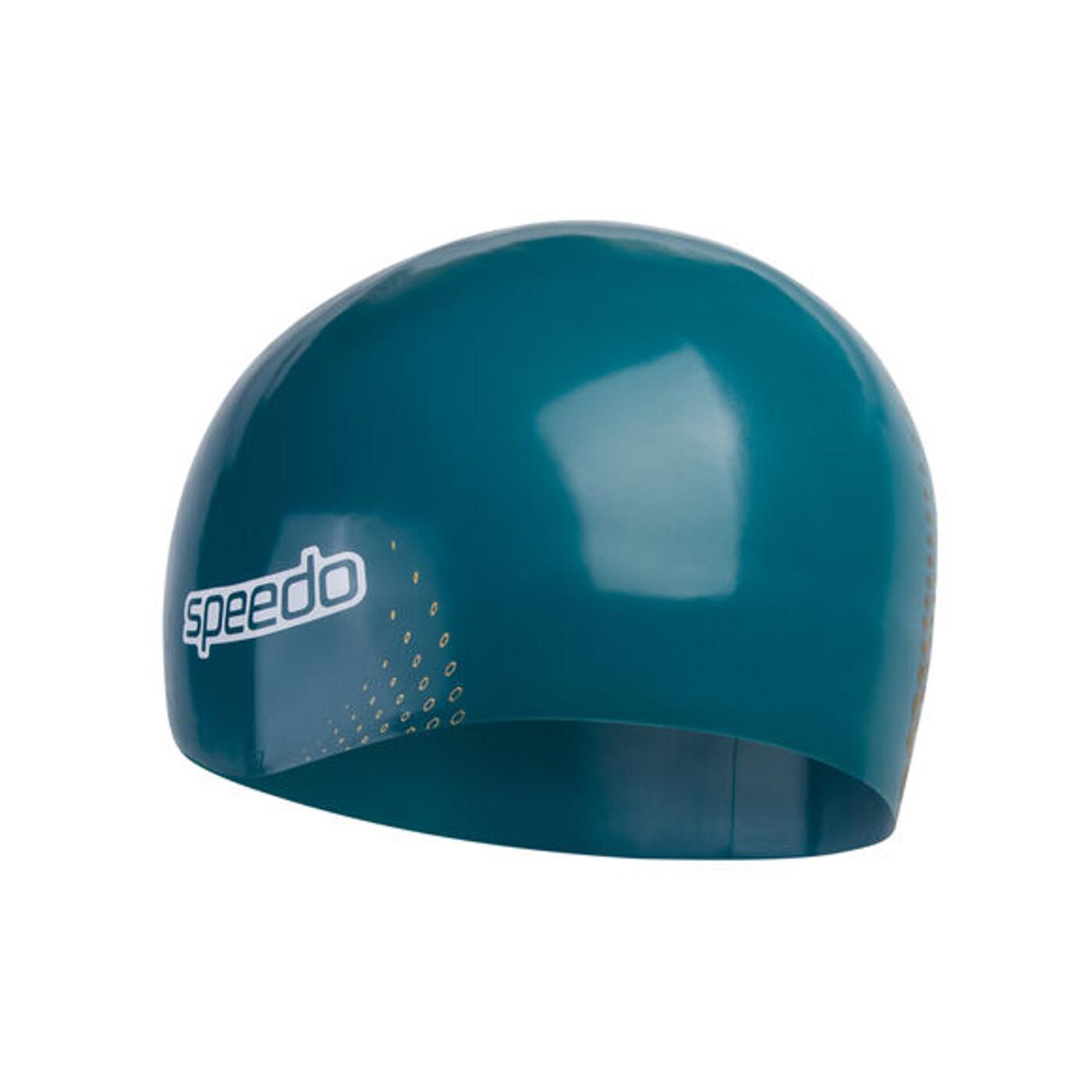 SPEEDO FASTSKIN CAP AU BLUE/GOLD - Herren