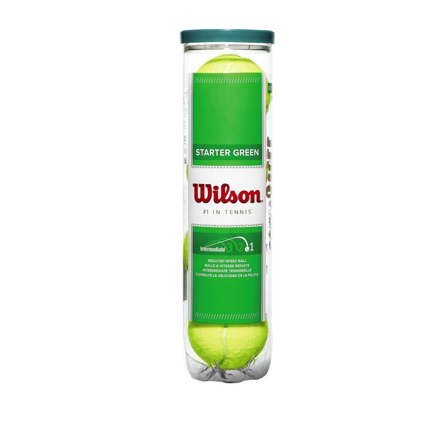 Tennisball STARTER PLAY GREEN 4TBALL WILSON