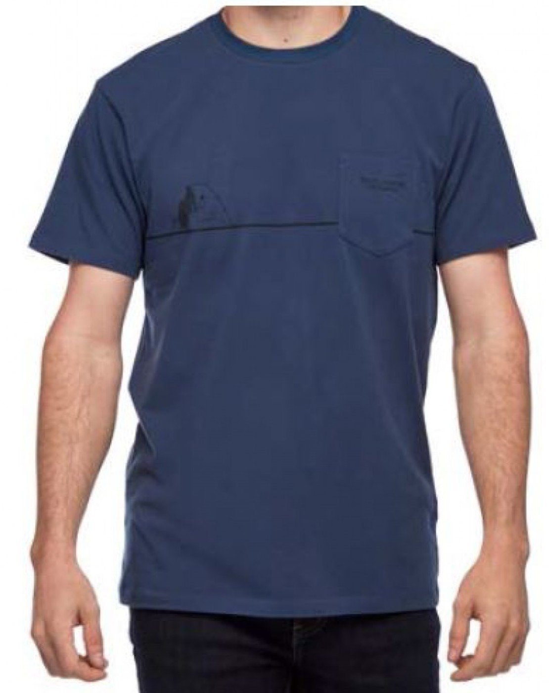 BLACK DIAMOND M SS HALF DOME POCKET TEE - Herren
