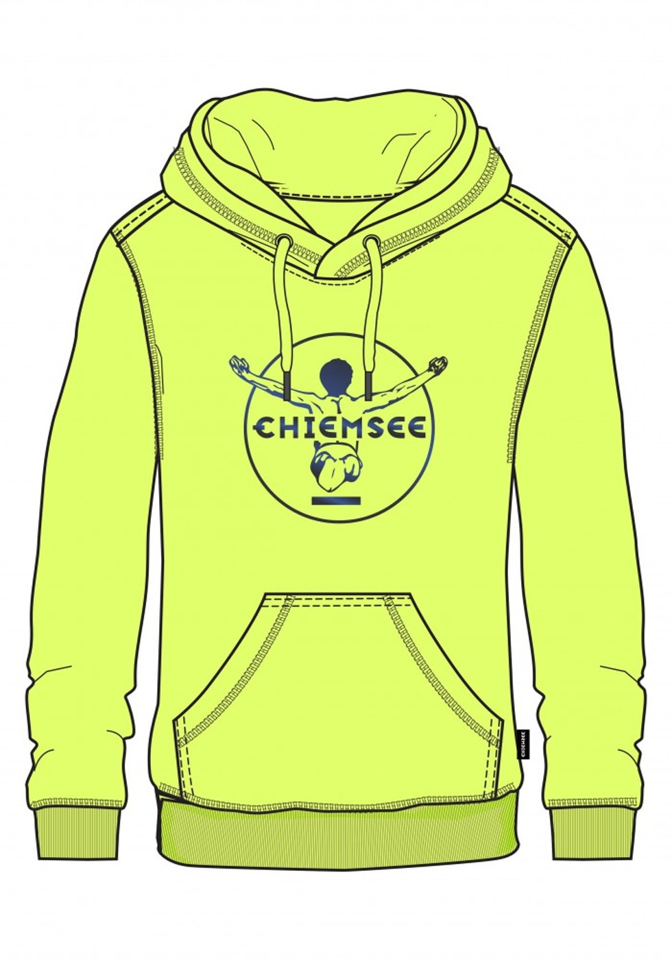 CHIEMSEE CALA BLANCA 1, Sweatshirt - Damen