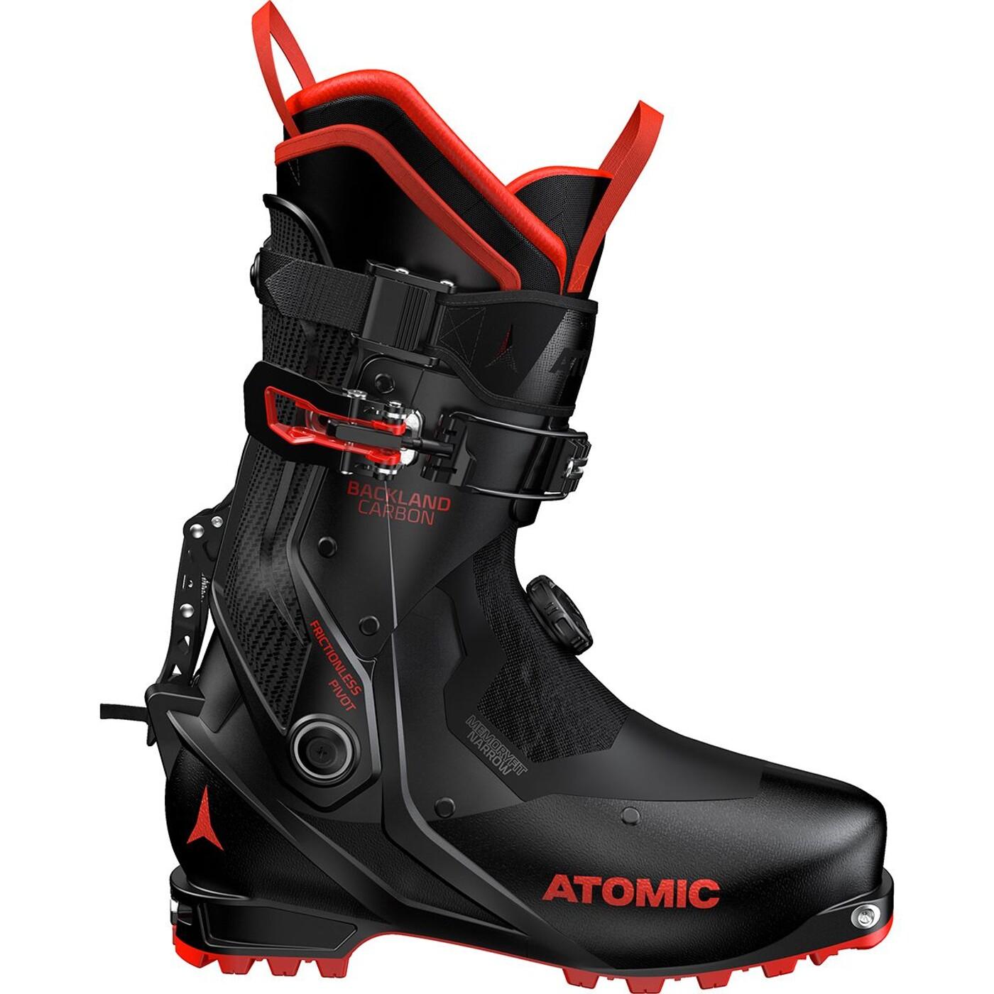 ATOMIC TOURENSCHUH BACKLAND CARBON Black/Red ATOMAC - Herren