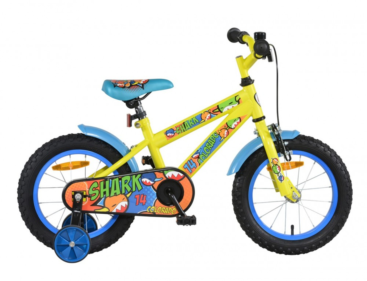 HIGH COLORADO Kinderfahrrad SHARK 14""
