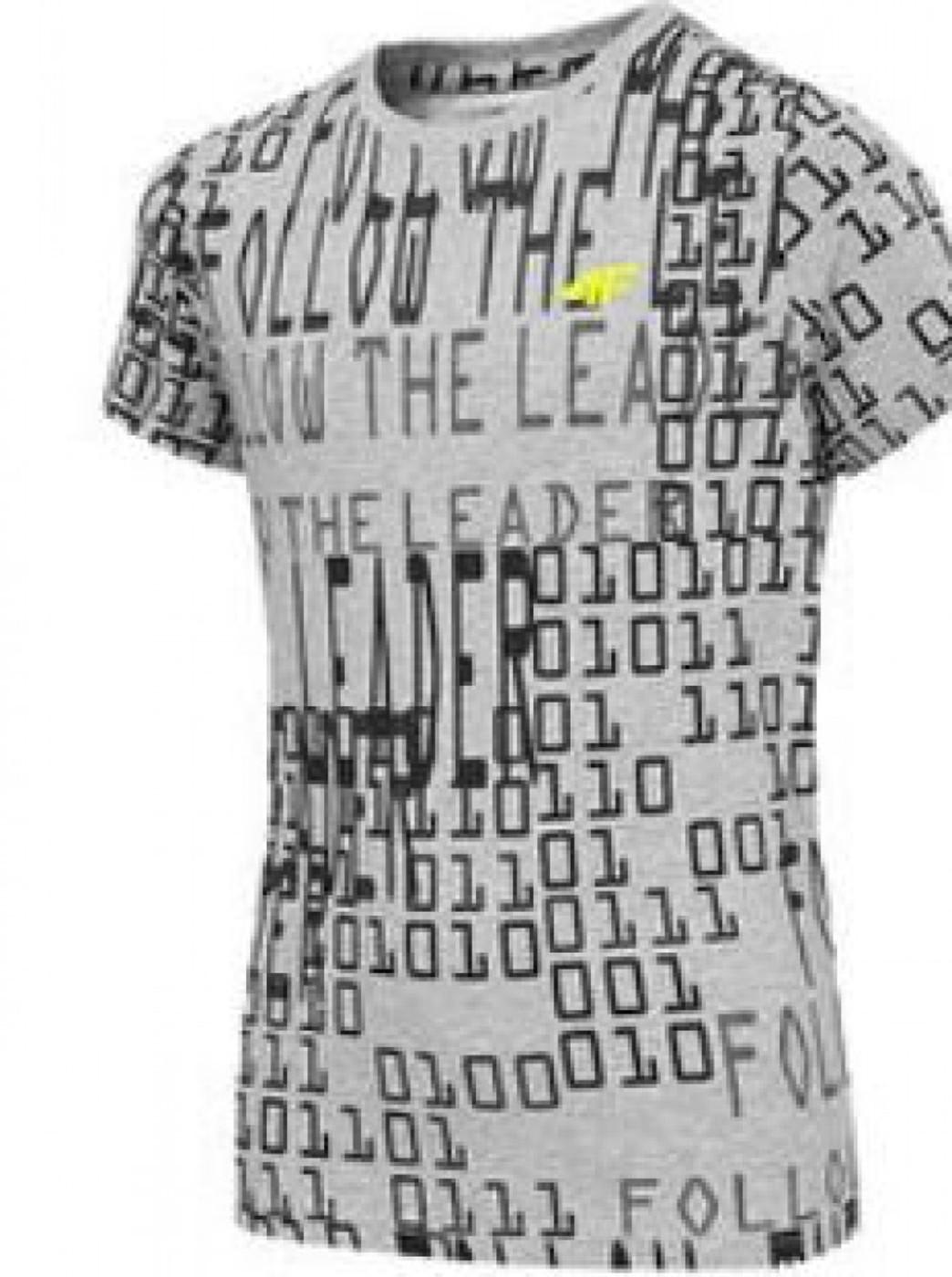 4F Boys T-Shirt Allover - Kinder