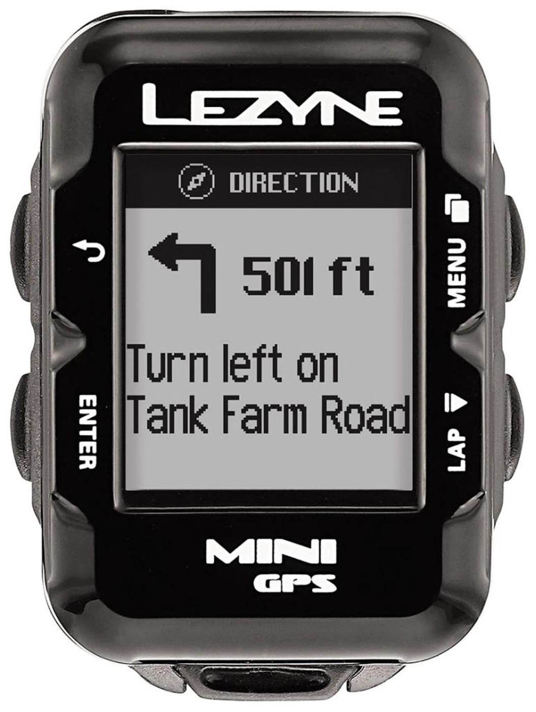 LEZYNE Radcomputer MINI GPS schwarz